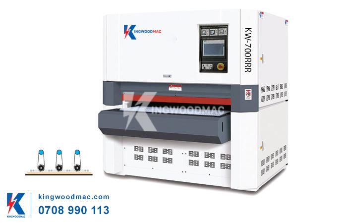 Máy chà nhám thùng 3 trục KW-700RRR   KINGWOODMAC